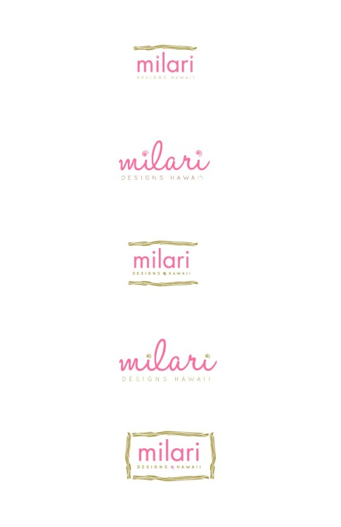 sneak peek to the first drafts of the logo I am designing for Milari Designs Hawaii. I dont think these will be used, but i like them anyway. Stay posted. www.ashleyjohnstondesign.com