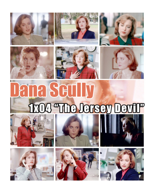 "The X-Files Season 1 Episode 1x04 ""The Jersey Devil"" Dana Scully"