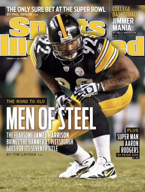 nfloffseason:  James Harrison for Sports Illustrated (Cover 2 of 2)