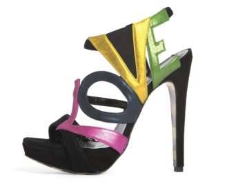 These Georgina Goodman 'Love' shoes express how every woman I know feels about shoes.
