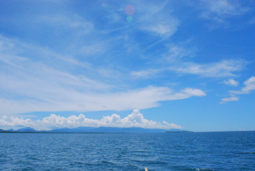 the sea and the sky.. so blue.. so beautiful..