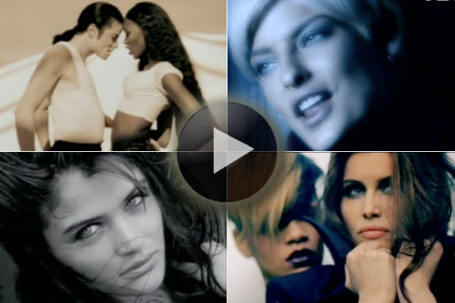 "The Top Supermodel Music Videos Some girls have all the luck. Not only are these ladies beautiful, tall and fashionable, but they're also music video muses. If you enjoyed the recent Victoria's Secret version of Katy Perry's ""Firework,""  then check out our eight favorite videos featuring moonlighting  supermodels — from Naomi Cambpell, Kate Moss and Christy Turlington to a  certain celebrated ""Uptown Girl."" Full story on StyleList here. [AOL photo composite]"