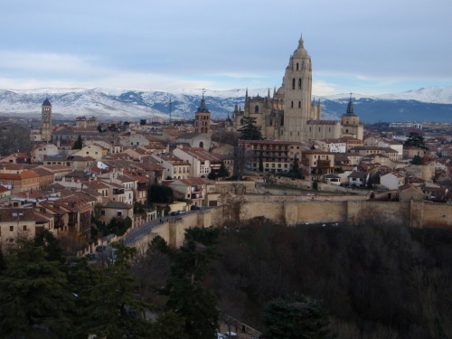 View from the Alcázar of Segovia.