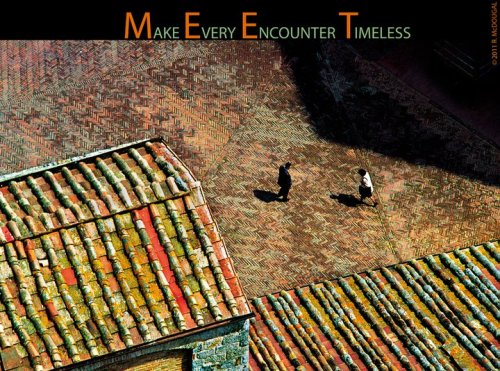 """M.E.E.T: Make Every Encounter Timeless"" - Russell McDougal / Isle of Viewhttp://www.russellmcdougal.comhttp://www.isleofview.net/viewdeck.aspx"