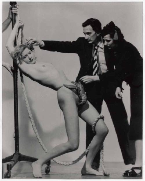 - Salvador Dali, Wife Gala, & a Strategically Placed LobsterFor Dali's Dream of Venus exhibit, 1939 World's FairPhoto by Murray Kormanvia Strawbergie