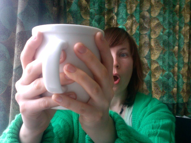 GIANT CUP OF TEA. Four hours into day one **  ** I'm doing all the work for February 1st TODAY because I realised that I will be in the city working with the kids that day. Not posting any work until the 1st though…