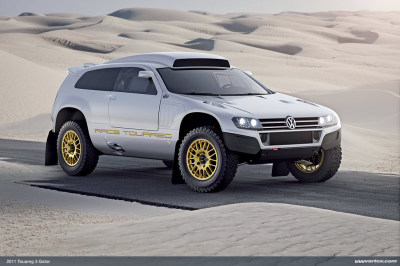 New Race Touareg 3 Qatar
