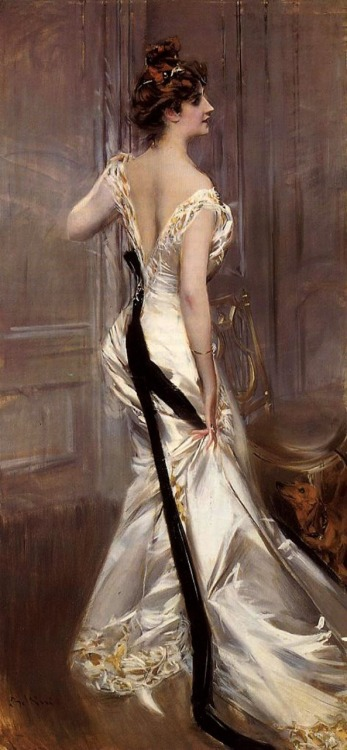 "Giovanni Boldini | ""The Black Sash"" 