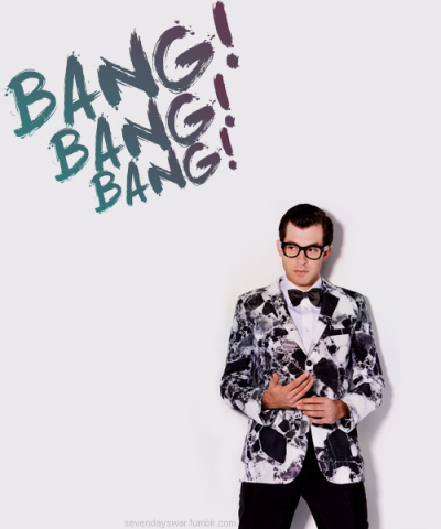 sevendayswar:  Mark Ronson & The Business Intl; Bang Bang Bang