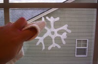 "Almost Unschoolers: Make Snowflake Window ""Clings"" Out of Glue"