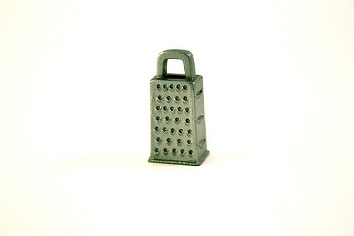 "cheese grater, 1/6"" scale ReMent"