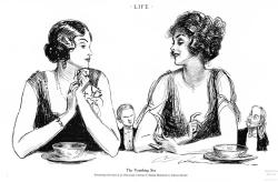 "Charles Dana Gibson, ""The Vanishing Sex,"" Life (1923)"