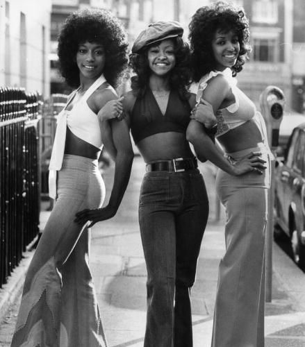 The Three Degrees: Fayette Pinkney, Valerie Holiday, Sheila Ferguson.