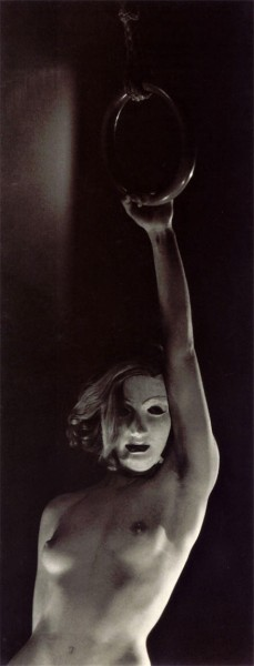 "billyjane:  Assia [masked]  by Dora Maar ca. 1934 from: ""Les vies de Dora Maar - Bataille, Picasso et les surréalistes"", translation of: Christian-Martin Diebold, ""Dora Maar: with and without Picasso"" , 2000"
