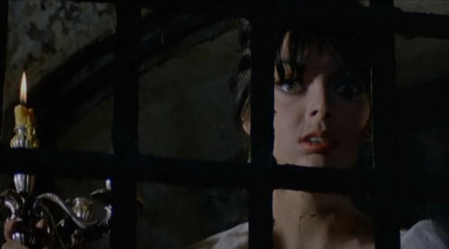 Barbara Steele, in The Horrible Dr. Hichcock, 1962