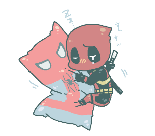I have no idea what is going on, but my two favorite Marvel characters together is fine by me. :D