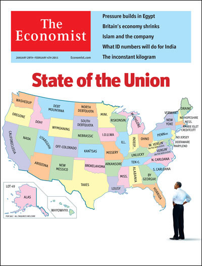 theeconomist:  Tomorrow's cover today: the union's troubled state. A strikingly unaudacious speech from Barack Obama failed to address America's problems.