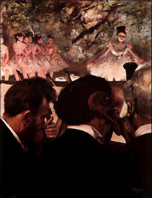 erinaa: 1872 Edgar Degas (French Impressionist, 1834-1917) ~ At Ballet