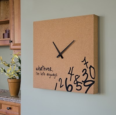 This will be the second thing in my kitchen… I'm never on time!