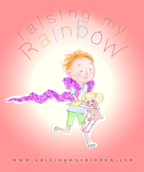 "CHARACTER ILLUSTRATION - for Blog, ""Raising My Rainbow"". Resume/Bio: http://www.linkedin.com/in/tanyamcclure Direct Link:  http://tanyamcclure.tumblr.com/post/2965267840/raisingmyrainbow Raising My Rainbow:  http://raisingmyrainbow.com"