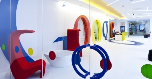 Google's new London office is, frankly, stunning. And they have a complimentary Asian-fusion restaurant to boot! [Google London's New Office Is a Happy Kiddie Funhouse [Slideshow]]