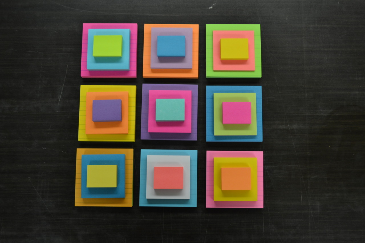 Post It Notes II