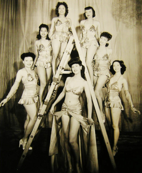 "vintagegal:  ""Sweet n' Hot"" All color musical at the Mayan 1940's"