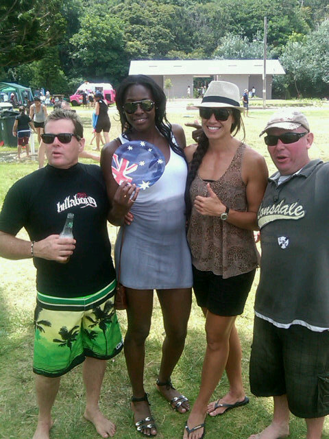 photo: Sonia Mkoloma: Spent Australia day with mo'onia and met some newly found swifts fans! Could you be next in my shot? http://twitpic.com/3tje65