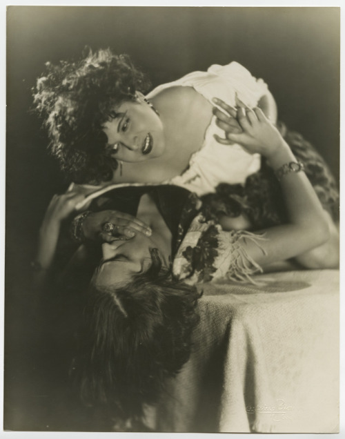 Lina Basquette and Rosa Velez 1920's