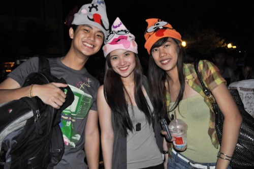 dollundercover:  with Nikko and Kathy ❤ Bini Boshi is LOVE!  Ang cute ng hat =)) -raymond