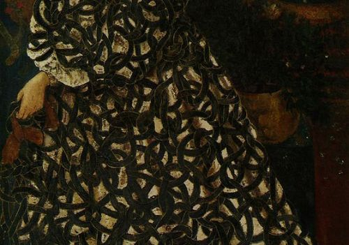 Edward Burne Jones, detail of painting
