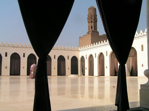 Mosque of al-Hakim, Historic Cairo - Egypt