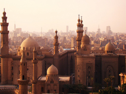 Historic Cairo Skyline - Egypt
