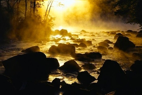 """""""River of Light"""" The Schroon River, southern Adirondack Mountains, New York. Photographer - Ray Palmer"""