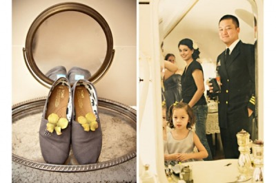 bride2be:  this bride wore TOMS in her wedding… so laid back