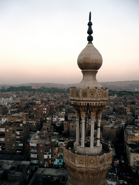 Bab Zuweila Tower, Historic Cairo - Egypt
