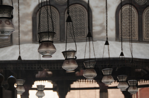 Lanterns at Sultan Hassan Mosque, Historic Cairo - Egypt