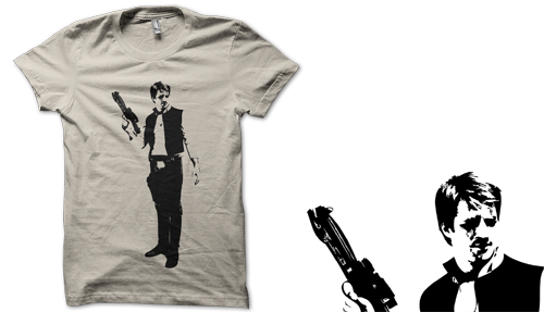 Mal Solo T-Shirt - $24.24 i might overwhelm you with my nerdy finds from time to time, and for that i do apologize, but - i really just don't care, i will let my Firefly and Star Wars love show!! and if you haven't seen one or either of those - get on it (honestly i have a friend who's only seen 1 star wars - how is that possible?!?).  i do love me some Mal & Solo action!  via thedailywhatgeek