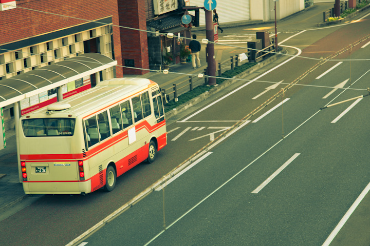 "COOL STUFF IN JAPAN 08 - ""KOCHI BUS"" Opinion: Buses in Japan are ten times more adorable than buses in America. Fact: Buses in Japan transform into robots."