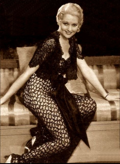 Thelma Todd, the tragic Ice-Cream Blonde of Hollywood.