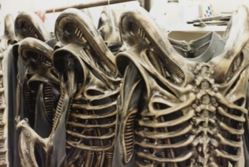 Aliens stunt suits