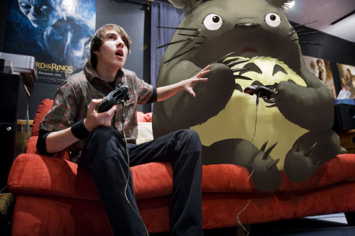 XBox Totoro by ~lord-phillock on deviantART