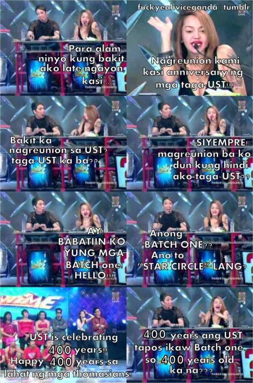 Super benta sakin ang tandem ni Vice and Ethel! :D