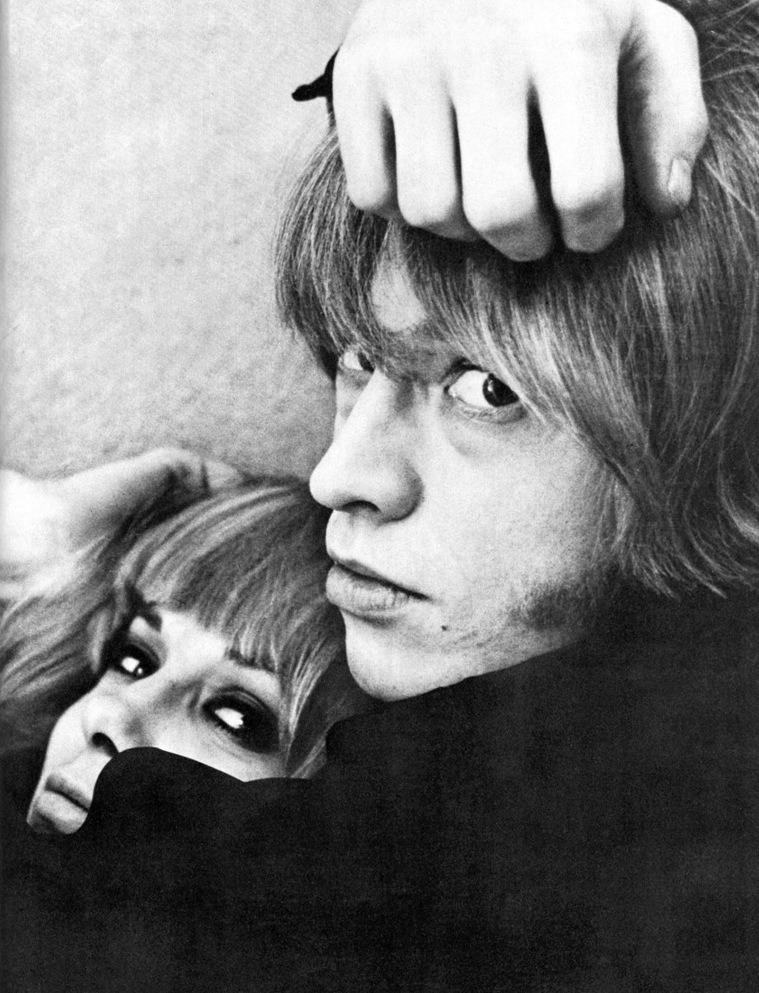 BRIAN JONES et ANITA PALLENBERG (Via 5to1)