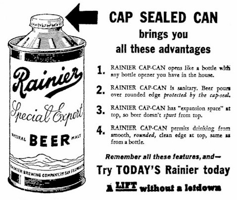 Cap Sealed Can.
