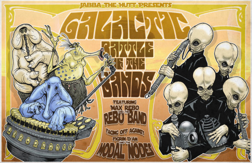 pacalin: Galactic Battle of the Bands - by Jake Geiger