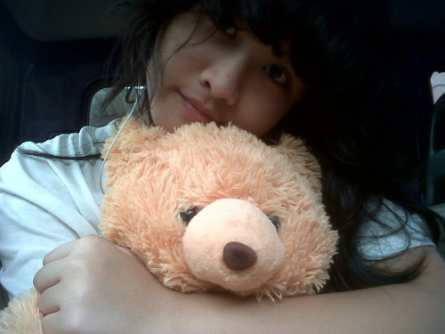 Thanks honey for teddy bear