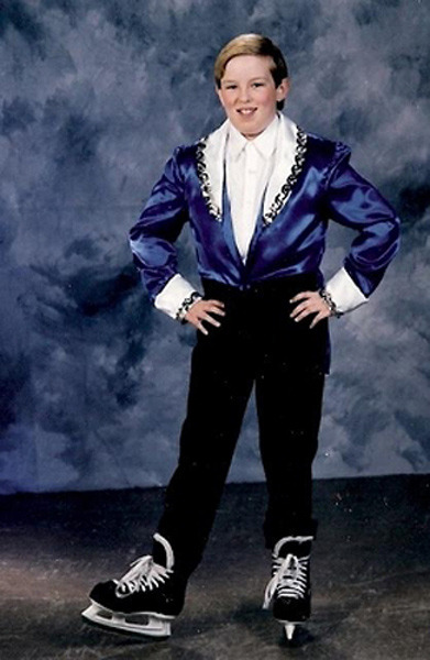 Yearbook: The Liberace of Ice Skating - Awkward School Pictures