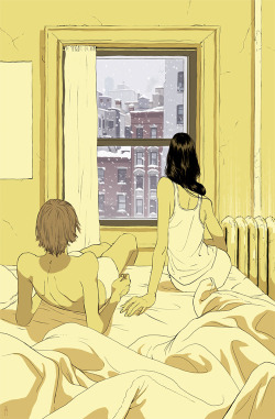 """Perfect Storm"" Art Print by Tomer Hanuka"