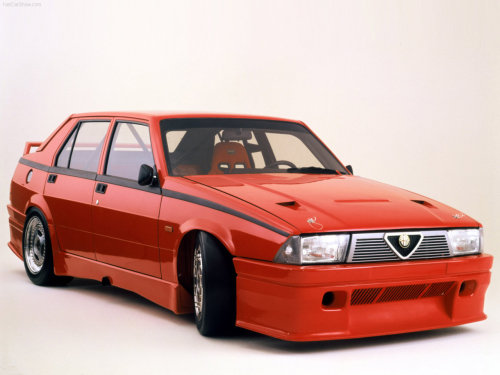Alfa Romeo 75 1.8 Turbo TCC (1987) I'm one of those annoying people who still thinks the 75 was the last proper Alfa Romeo built, as far as sporty credentials were concerned.